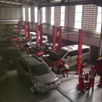 Photo taken at Nissan Veteran by septian h. on 4/27/2013