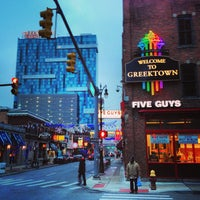 Photo taken at Greektown Casino-Hotel by Simon Taylor A. on 1/31/2013