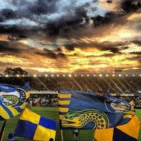 Photo taken at Pirtek Stadium by Simon Taylor A. on 4/6/2013