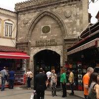 Photo taken at Beyazıt - Kapalıçarşı Tramvay Durağı by Tawfic J. on 5/17/2013