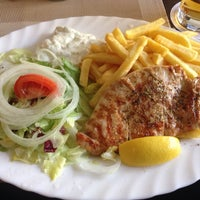 """Photo taken at """"Der Grieche"""" Grill Imbiss by Thomas B. on 11/21/2013"""