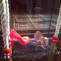 Photo taken at Christian Louboutin by Nadia T. on 4/18/2013