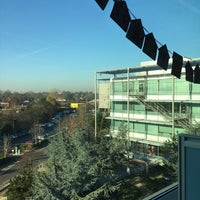 Photo taken at Chiswick Business Park by Grant D. on 12/1/2016