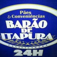 Photo taken at Panificadora Barão de Itapura by Renata M. on 1/28/2013