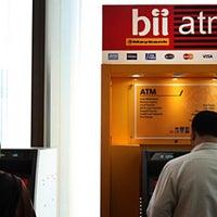 Photo taken at Bank Internasional Indonesia (BII) by Jefriando C. on 5/26/2016