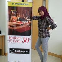 Photo taken at Bank Bukopin by Dety K. on 10/19/2013