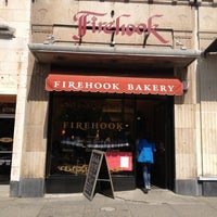 Photo taken at Firehook Bakery by Harjit on 4/23/2013