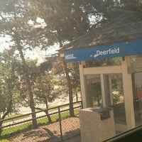 Photo taken at Metra - Deerfield by Cee on 6/8/2013