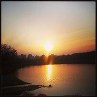 Photo taken at Yuldong Park by Marta on 3/23/2013