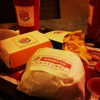 Photo taken at Burger King by  [caoi-ipohFX] 🐝 on 10/20/2012