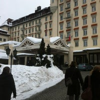 Photo taken at Gstaad Palace Hotel by Nida . on 2/24/2013