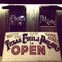 Photo taken at Texas Chili Parlor by Tarek P. on 3/12/2013