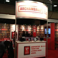 Photo taken at Salon du livre de Montréal by Bruno C. on 11/14/2012