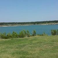 Photo taken at Lake Georgetown by Araceli on 7/26/2014