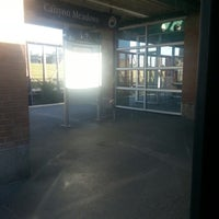 Photo taken at Canyon Meadows (C-Train) by Amanda G. on 9/28/2012