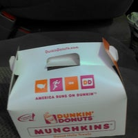 Photo taken at Dunkin' Donuts by Angel W. on 12/8/2013