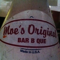 Photo taken at Moe's Bar-B-Que & Bowl by Chris R. on 3/31/2013