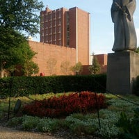 Photo taken at South Oval by Taras B. on 9/21/2012
