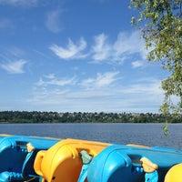 Photo taken at Green Lake Boathouse by BIGFOOT on 6/28/2013