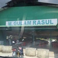 Photo taken at Gulam Rasul by Saliza M. on 3/26/2014