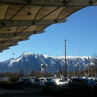 Photo taken at Salzburg Airport W. A. Mozart (SZG) by Herbert on 4/15/2013