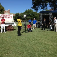 Photo taken at South Oval by Madster on 10/5/2013