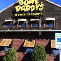Photo taken at Bone Daddy's House of Smoke by Bryan on 12/20/2012