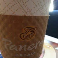 Photo taken at Panera Bread by Robin M. on 1/18/2013