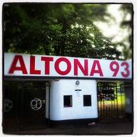 Photo taken at Altonaer Fussball Club von 1893 e.V. by Jan S. on 9/23/2012