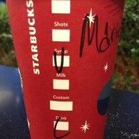 Photo taken at Starbucks by Maria G. on 11/21/2012