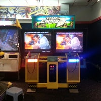 Photo taken at Namco's Time Out Arcade by Donald L. on 8/3/2013
