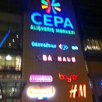 Photo taken at Cepa by Gözde Ö. on 2/17/2013