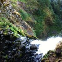 Photo taken at Multnomah Falls by SAC on 9/3/2013