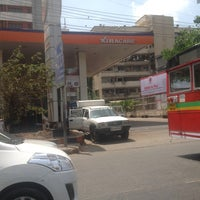 Photo taken at Indian Oil Petrol Pump by Gaurang D. on 4/20/2013