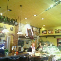 Photo taken at Bocadillo Café by Nadia L. on 1/24/2013