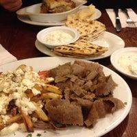 Photo taken at Avli Little Greek Tavern by Jessica L. on 10/8/2012