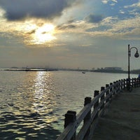 Photo taken at Ancol Beach by Lukas R. on 6/15/2013