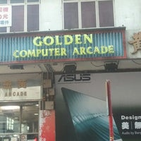 Photo taken at Golden Computer Arcade by rhosell on 12/16/2012