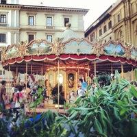 Photo taken at Piazza della Repubblica by Nermin K. on 6/23/2013
