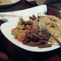 Photo taken at Miyabi Japanese Steak House by D J. on 12/30/2012