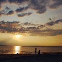 Снимок сделан в Ягринский пляж пользователем Marianne M. 7/15/2013