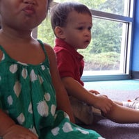 Photo taken at Tuckahoe Library by joyce o. on 8/2/2014