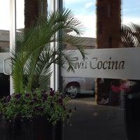 Photo taken at Mi Cocina by Pam T. on 4/4/2014