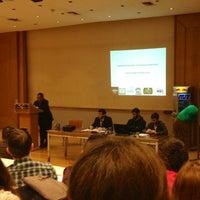Photo taken at University of Piraeus by Vasilis A. on 12/18/2012