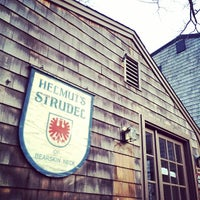 Photo taken at Helmut's Strudel by Steve D. on 5/8/2014