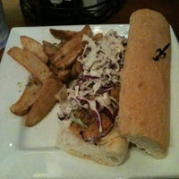 Photo taken at New Orleans Hamburger And Seafood Co. by Carla on 10/28/2012