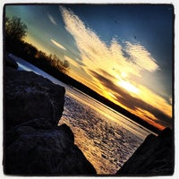 Photo taken at Linesville Spillway by Adam V. on 1/20/2013