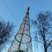 Photo taken at Шуховская башня by Finn C. on 4/9/2014