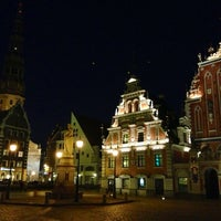 Photo taken at Riga Old Town by Luda S. on 4/28/2013