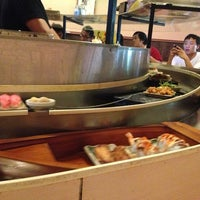 Photo taken at Fuji Sushi Boat & Buffet by Irakli G. on 7/8/2013
